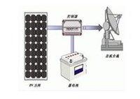 直流负载太阳能光伏系统示意图
