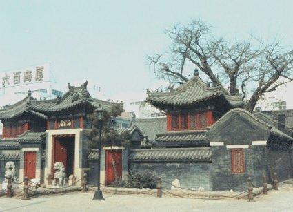 海云庵坐落在青岛四方区海云街1号