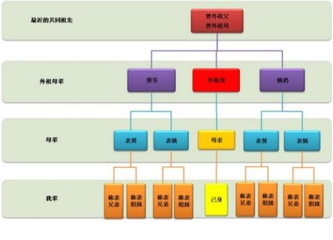 健康树状图