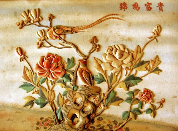 丝绸文化儿童画