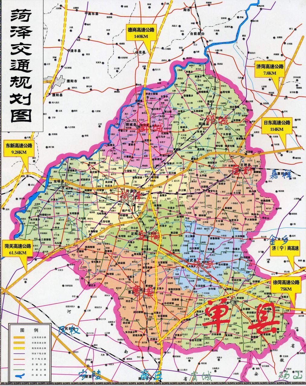 单县浮龙湖地图