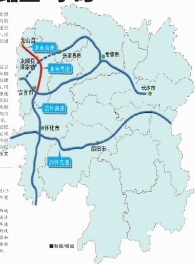 渝交界的湖南省龙山县