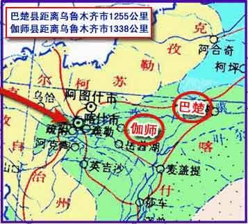 8·11新疆伽师地震地图