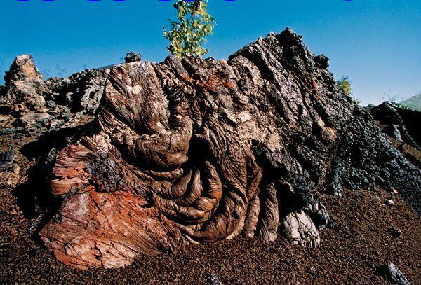 疗养的著名火山风景区