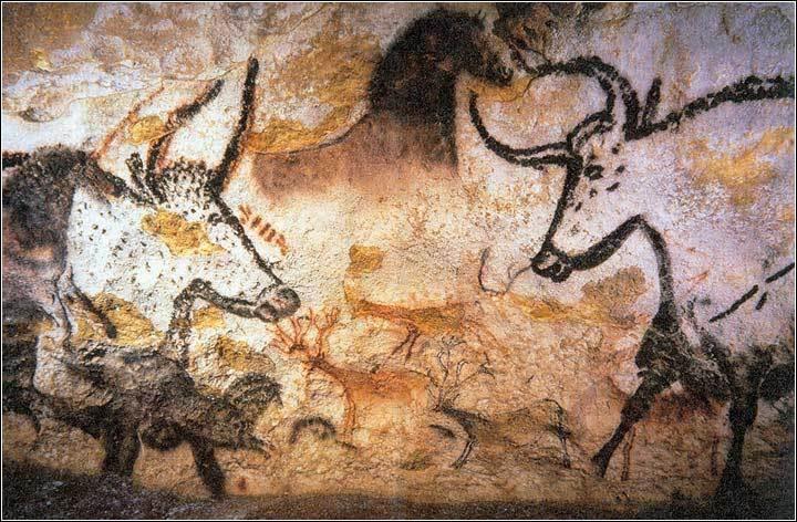 这些壁画很好的反映了旧石器时代的古代人类文明