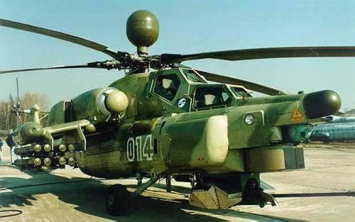 俄罗斯米-28浩劫武装直升机