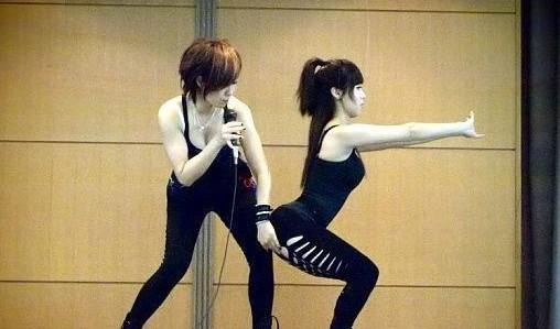舞的健身减肥效果突出