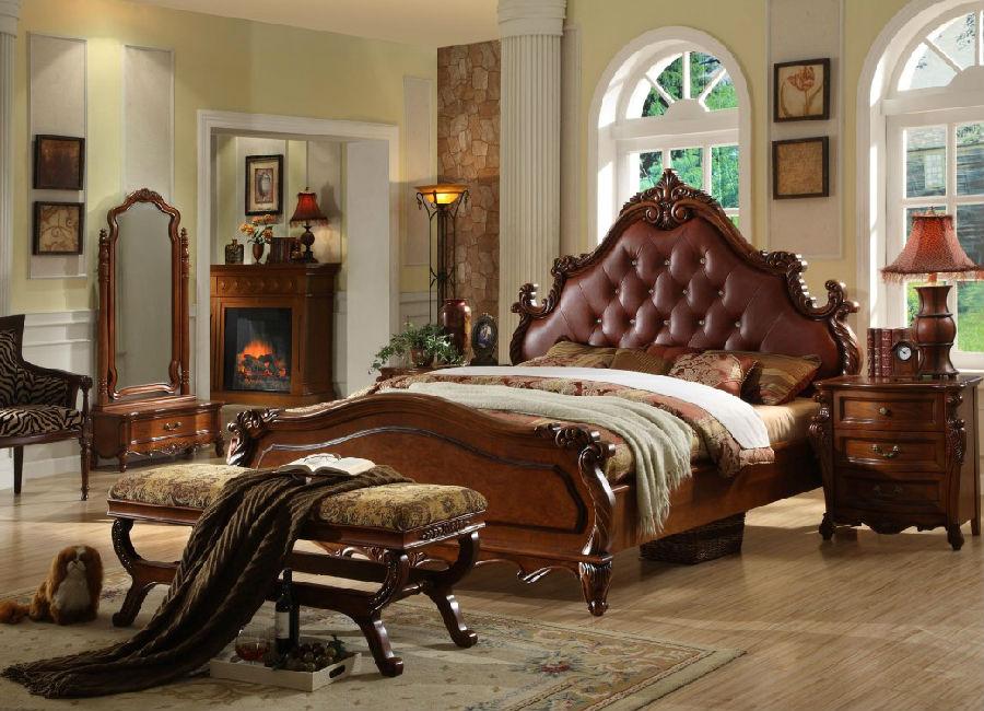 美式家具多采用胡桃木