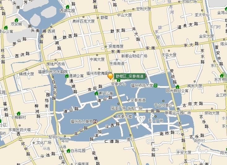 安泰街道地图