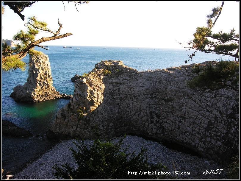 """济州岛""""独立岩"""""""