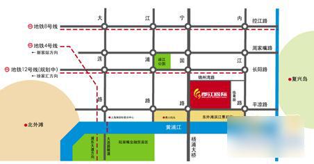 地铁4号线杨树浦路站,地铁8号线黄兴路站