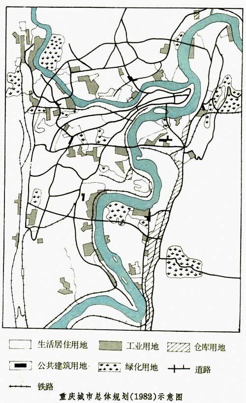 团式城市布局结构