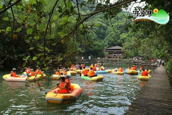 河源万绿湖风景区