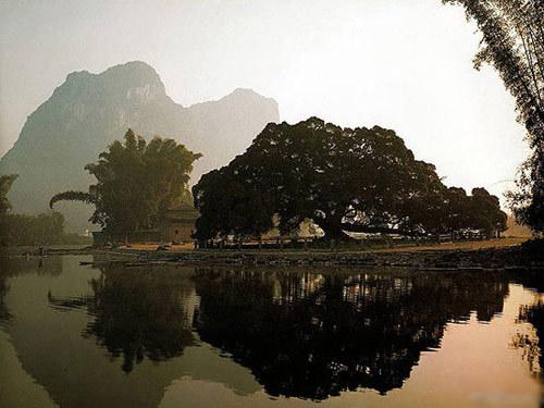 顺昌竹乡公园雕像